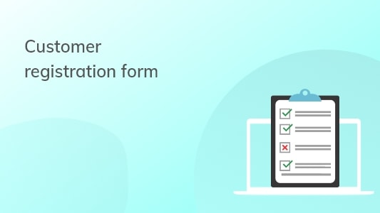Shopify Customer Registration Form