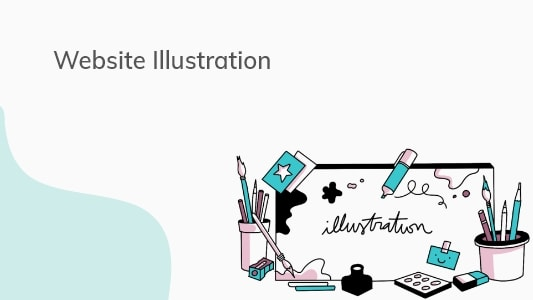 Shopify Website Illustrations and Icons Designs