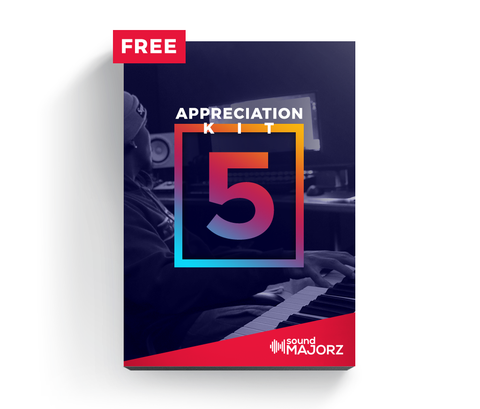 Appreciation Kit 5 - Drum Kit - SoundMajorz | Vybe & DiMuro Kits, Samples, Loops, MIDI Files & More - Buy & Download