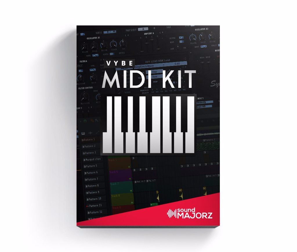 vybe MIDI Kit 1 - MIDI Kit - SoundMajorz | Vybe & DiMuro Kits, Samples, Loops, MIDI Files & More - Buy & Download