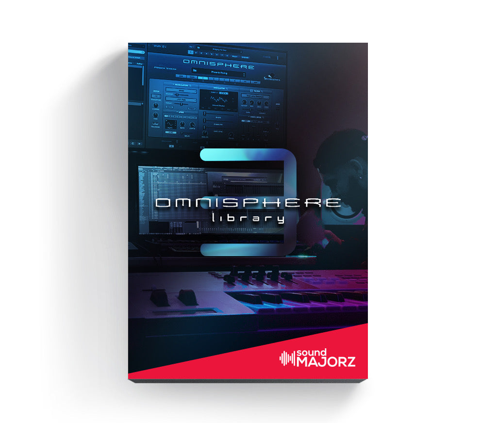 soundMajorz | vybe Omnisphere Bank 3 - Sound Bank - SoundMajorz | Vybe & DiMuro Kits, Samples, Loops, MIDI Files & More - Buy & Download