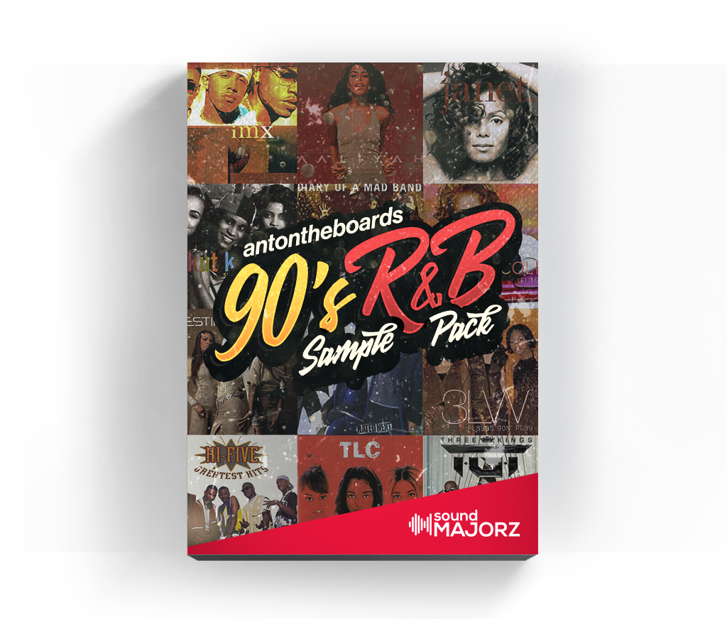 soundMajorz 90's R&B Sample Pack (Video Demo Inside) - Loop Kit - SoundMajorz | Vybe & DiMuro Kits, Samples, Loops, MIDI Files & More - Buy & Download