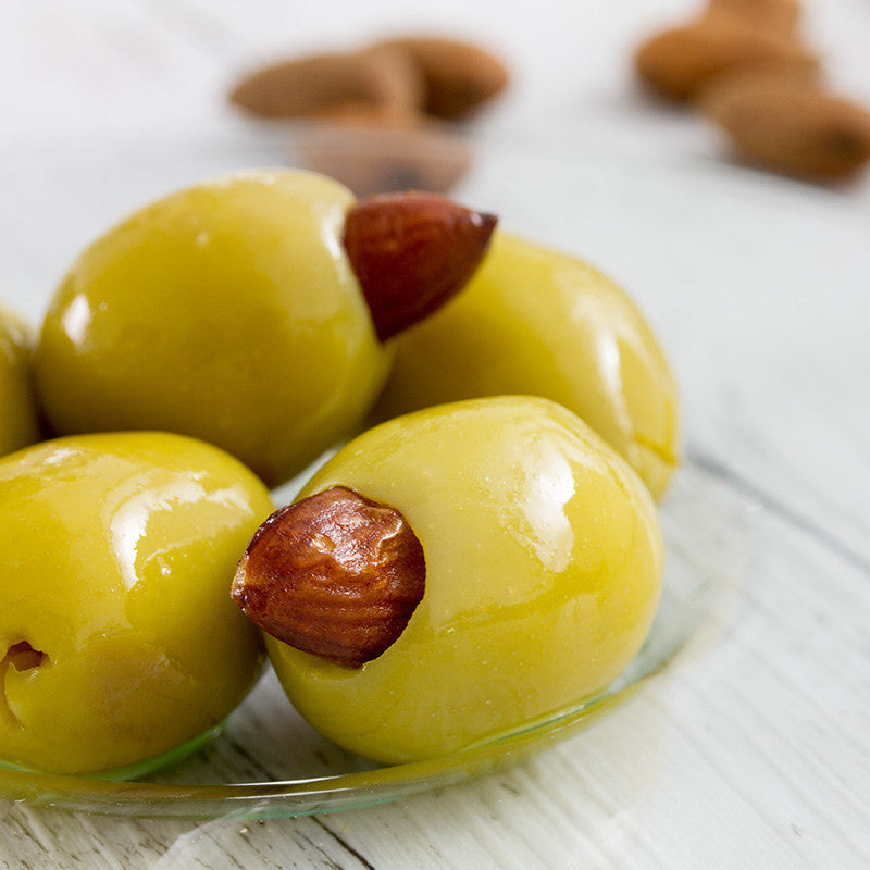 Almond Stuffed Olives 120g, Molives - Molives Australian Gourmet Olives