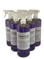 American Hardwood Floor Cleaner - Quart Spray, Case of Six