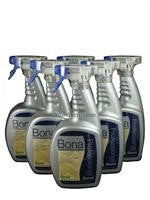 Bona Professional Series Hardwood Floor Cleaner,  Quart Spray Bottles, Case of Six