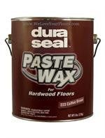 Hardwood Paste Wax, Coffee Brown, by Dura Seal - 6 lb. Can