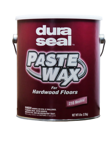 Hardwood Paste Wax, Neutral, by Dura Seal - 6 lb. Can