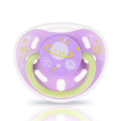 Glow in the Dark Pacifier Small - Lavender