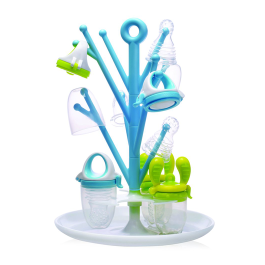Food Feeder Multi-Purpose Rack - Sky blue