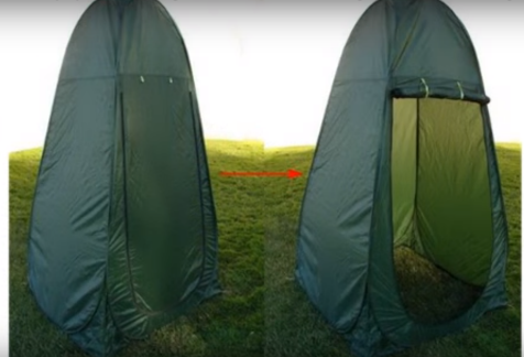TMS Portable Green Outdoor Pop-up Camping Tent: