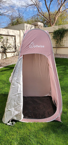 WolfWise pop up shower tent
