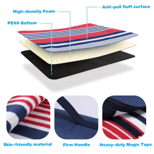Wolfwise Outdoor Picnic Blanket has high-density foam, anti-pull fluff surface and PEVA bottom.