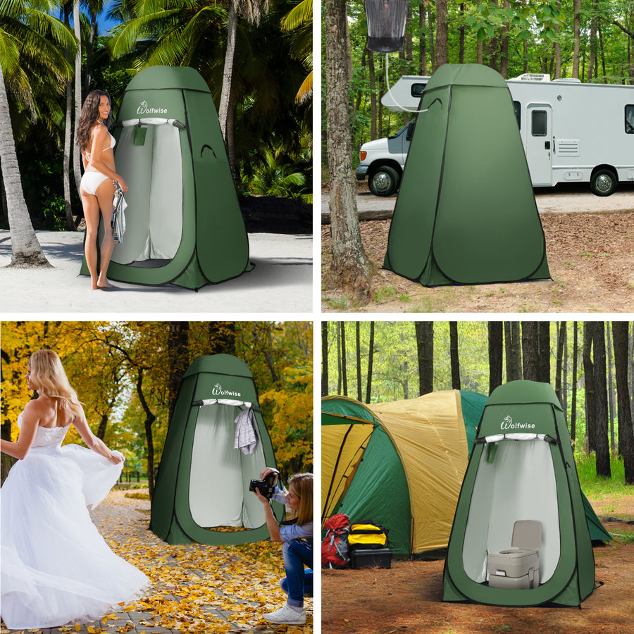 Wolfwise Blazers A20 Pop up Shower tent
