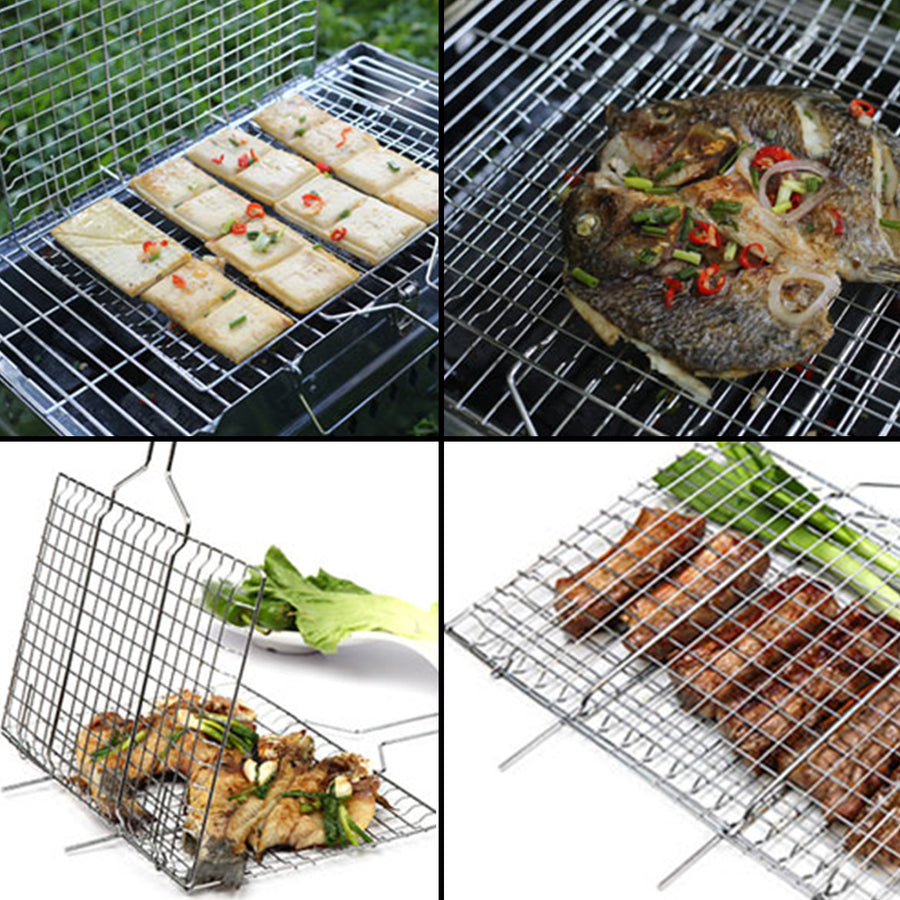 WolfWise Portable Medium Grilling Basket