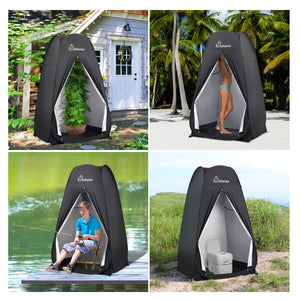 WolfWise pop up shower tent is ideal for camping, biking, toilet, shower, fishing, beach.