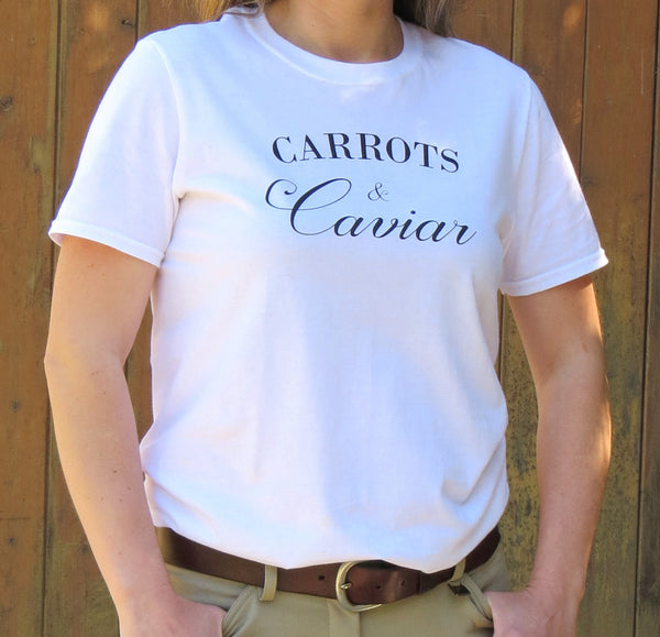 The Carrots & Caviar tee