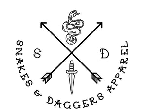 Snakes & Daggers Apparel