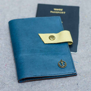 Turquoise Passport Cover - Nautical Series