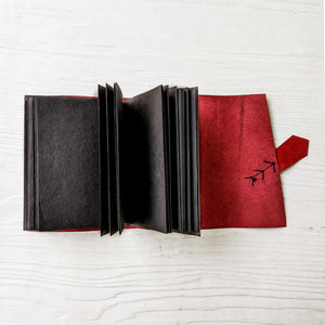 Black Arrow Leather Journal - A6