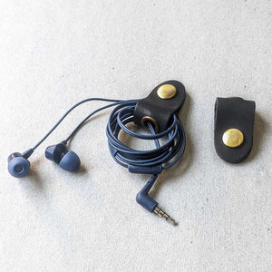 Leather Earphones or Cord Organiser (Set of 2)