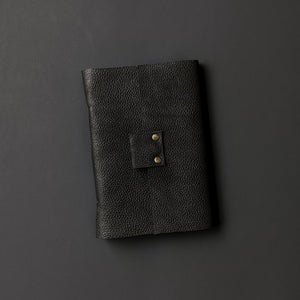 Black Rainbow Leather Journal - A6