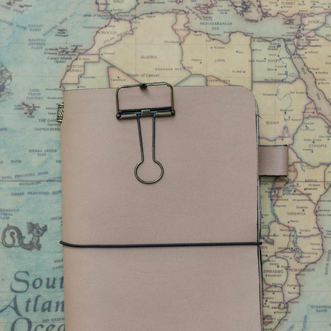 TBC Traveller's Journal - Desert Sand