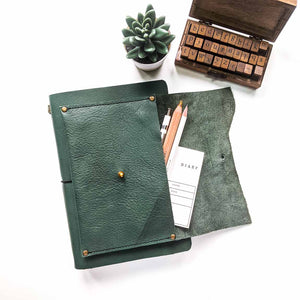 The Artist's Journal - Forest Green | A5