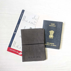 Passport Wallet - Grey