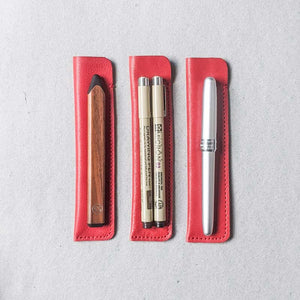 Leather Pen Capsule