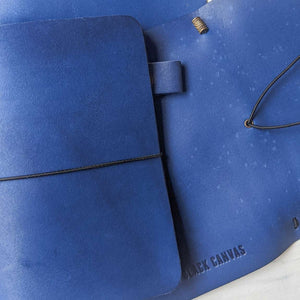 RS / / TBC Travellers Journal - Ocean Blue