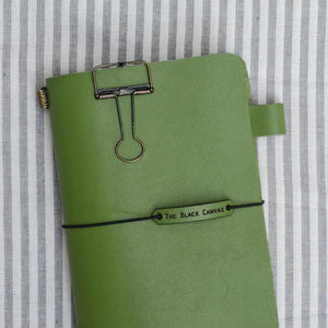 TBC Traveller's Journal - Olive Green