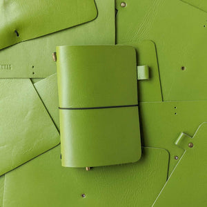 RS / / TBC Travellers Journal - Olive Green