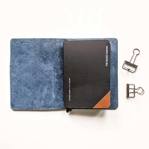 Outlander Leather Cover - Navy Blue | A6