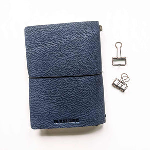 Outlander Leather Cover - Navy Blue | A5