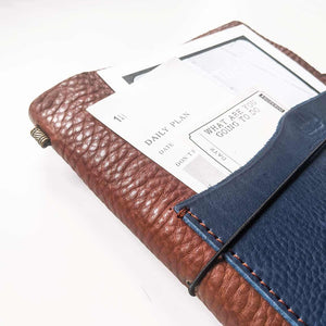 Outlander Leather Cover - Tan | A5