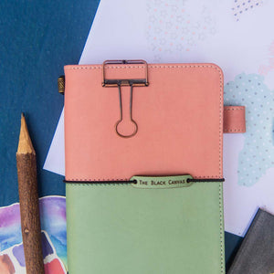 TBC Traveller's Journal - Pastel Pink + Mint