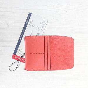Passport Wallet - Peach
