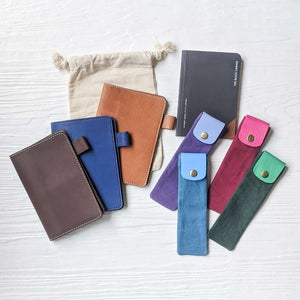 Pocket Docket + TBC Notebook + Keeper Pen/Pencil Case Bundle