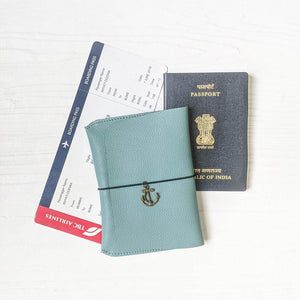 Passport Wallet - Powder Blue