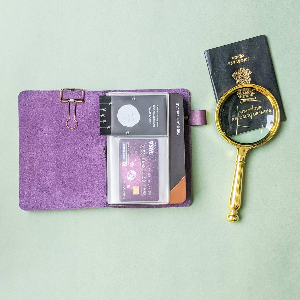 TBC Traveller's Journal - Purple | A6