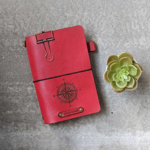 TBC Traveller's Journal - Ruby Red | LIMITED EDITION