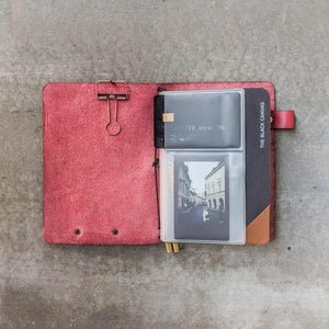 TBC Traveller's Journal - Ruby Red | A6