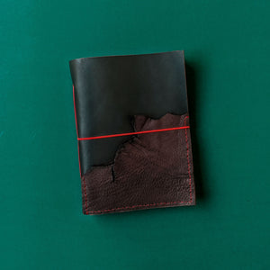 Rustic Leather Journal With Pocket - A5
