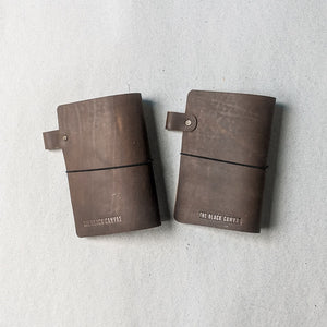 RS / / TBC Travellers Journal - Rustic Brown