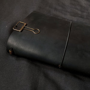 Slate Black TBC Travellers Journal | A5