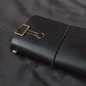 Slate Black TBC Travellers Journal | A6
