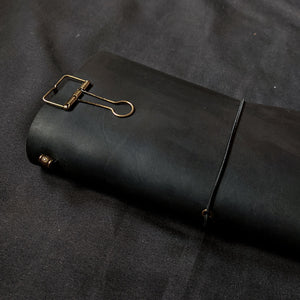 Slate Black TBC Travellers Journal | Slim