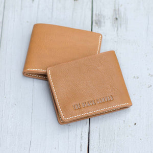 5 Pocket Leather Bi-fold Men's Wallet