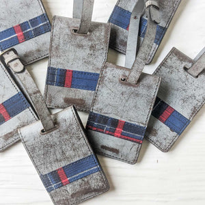 RS / / Tartan Travel Accessories - Marble Grey