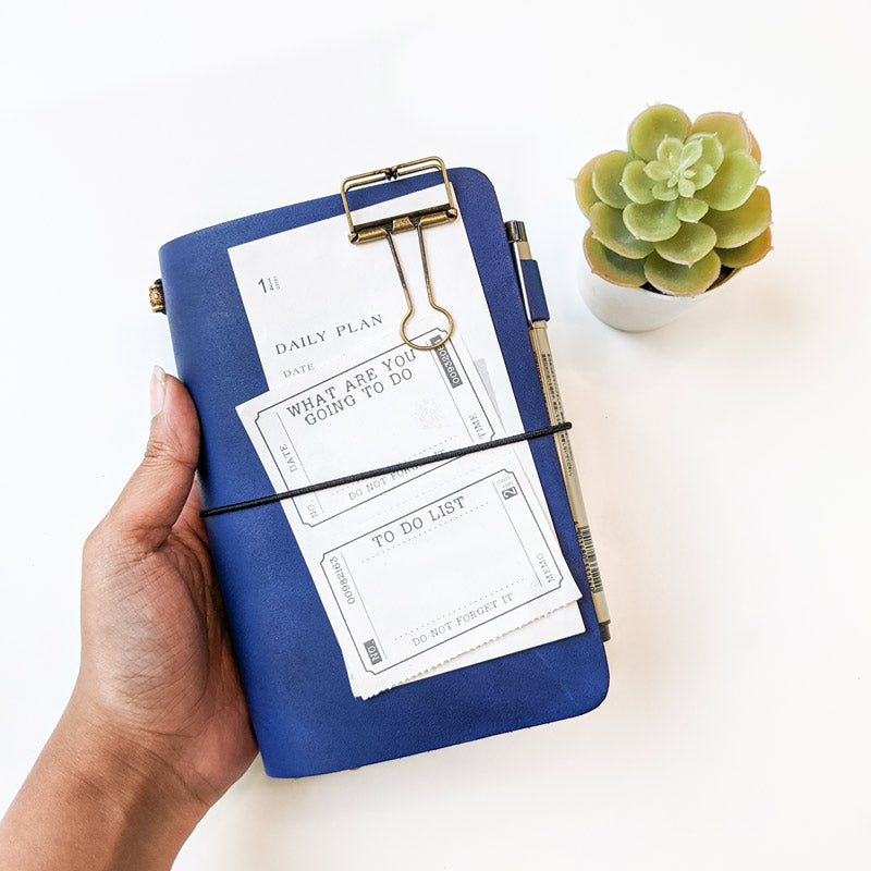 TBC Traveller's Journal - Ocean Blue | A6